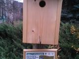 Tisková zpráva - Expozice nejen ptačích budek a krmítek ve Zvonečku